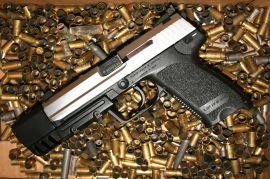 Pistole, nebo... pistole